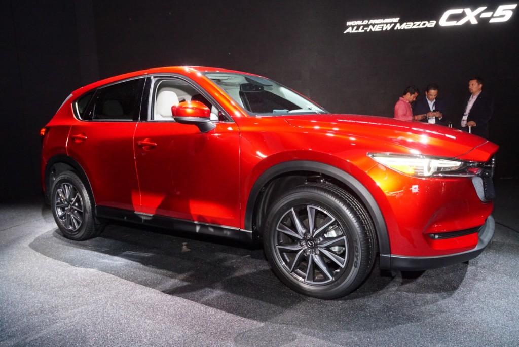 2017 Mazda CX-5 video preview: 2016 LA Auto Show