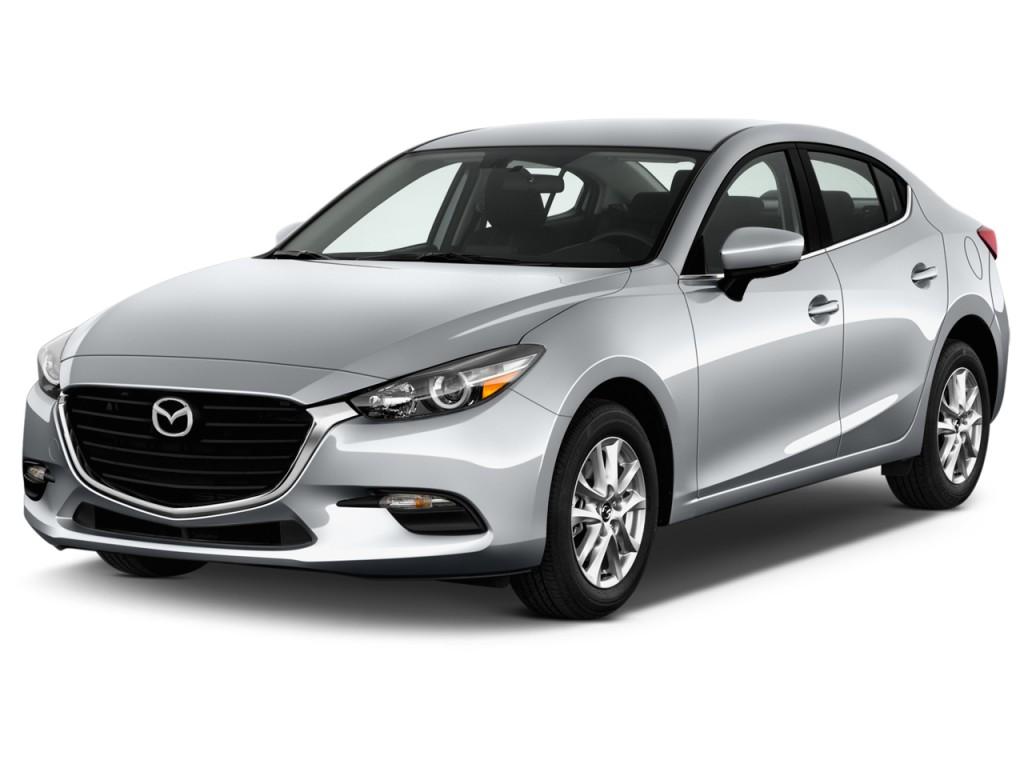 Image 2017 Mazda Mazda3 4 Door Sport Auto Angular Front