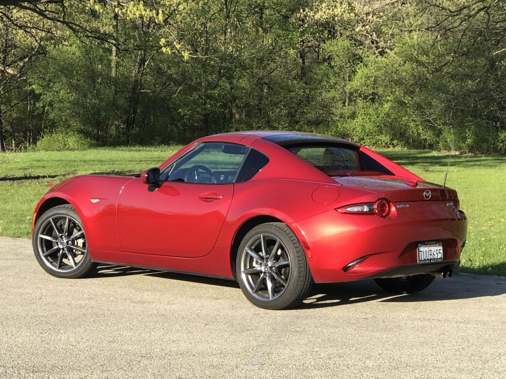 Image: 2017 Mazda MX-5 Miata RF, size: 1024 x 768, type ...