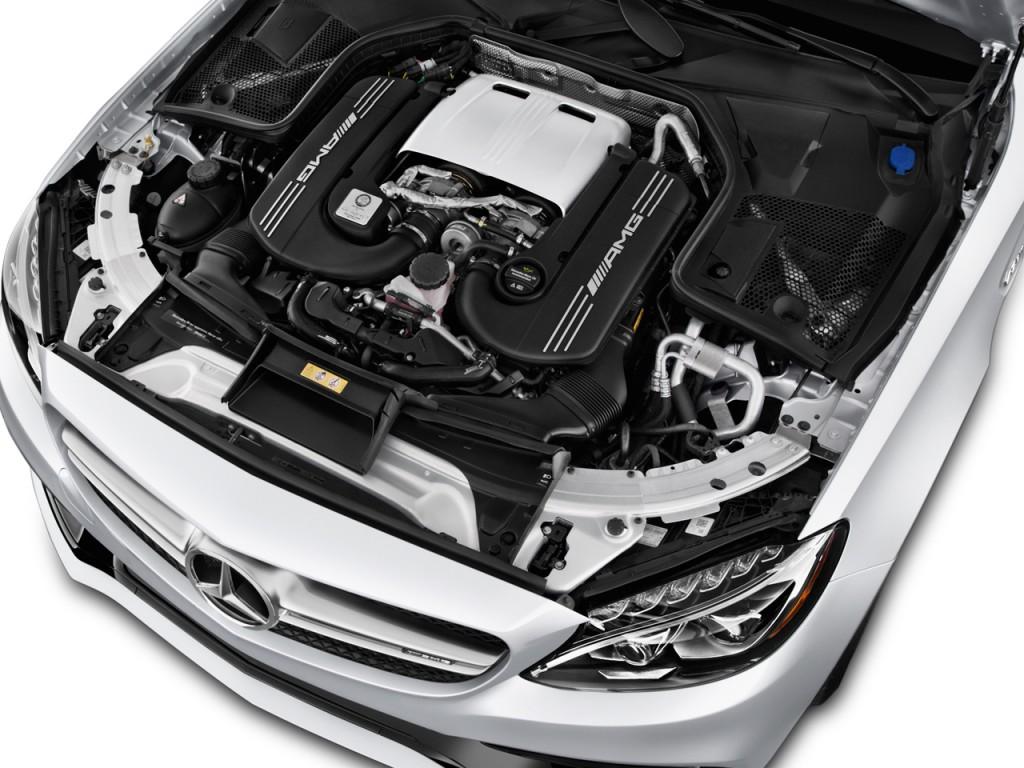 Image 2017 mercedes benz c class amg c63 s sedan engine for Mercedes benz c class engine