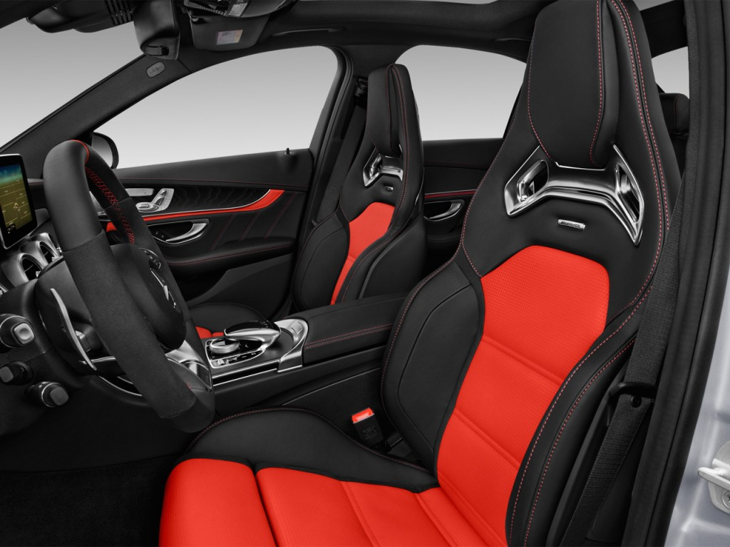 Image 2017 mercedes benz c class amg c63 s sedan front for Mercedes benz driver seat replacement