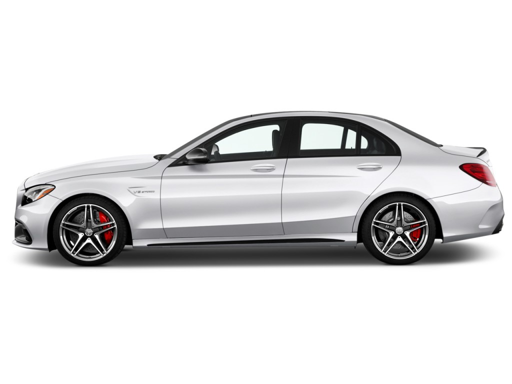 Image 2017 Mercedes Benz C Class Amg C63 S Sedan Side