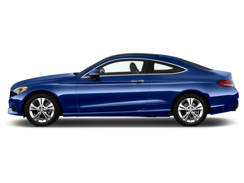 Image 2017 mercedes benz c class c300 coupe side exterior for Mercedes benz c 2017
