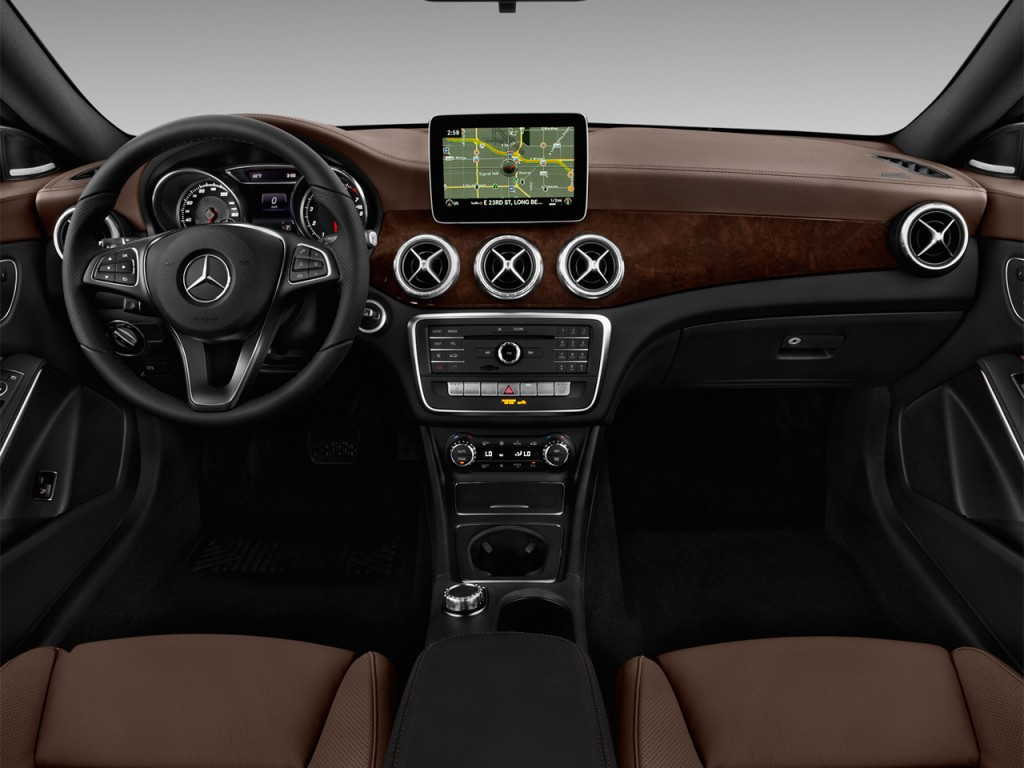 Image 2017 mercedes benz cla cla250 coupe dashboard size for Mercedes benz dashboard