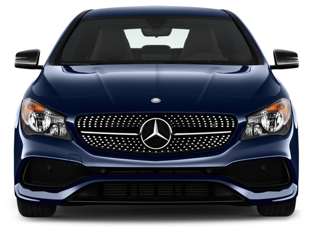 Image 2017 mercedes benz cla cla250 coupe front exterior for Mercedes benz cla coupe 2017
