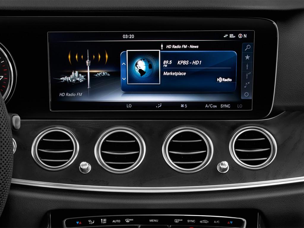Image 2017 mercedes benz e class e300 sport rwd sedan for Mercedes benz car audio