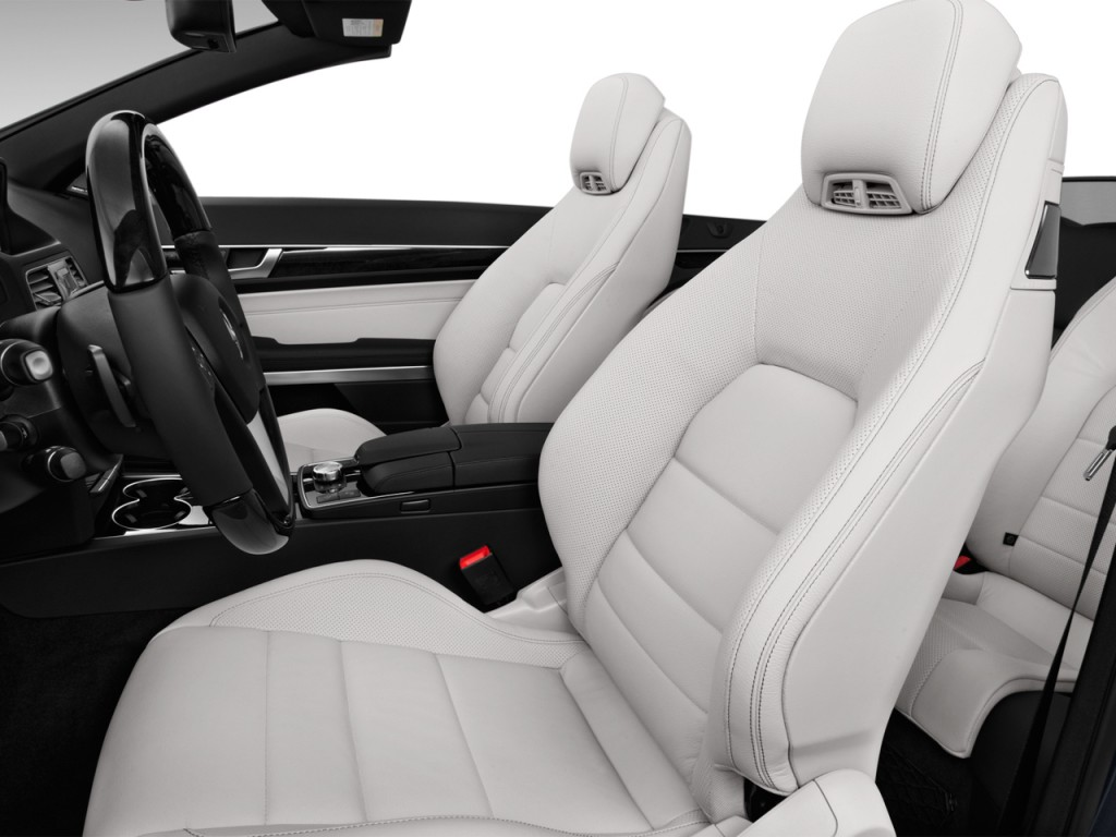 Image 2017 Mercedes Benz E Class E400 Rwd Cabriolet Front Seats Size 1024 X 768 Type Gif