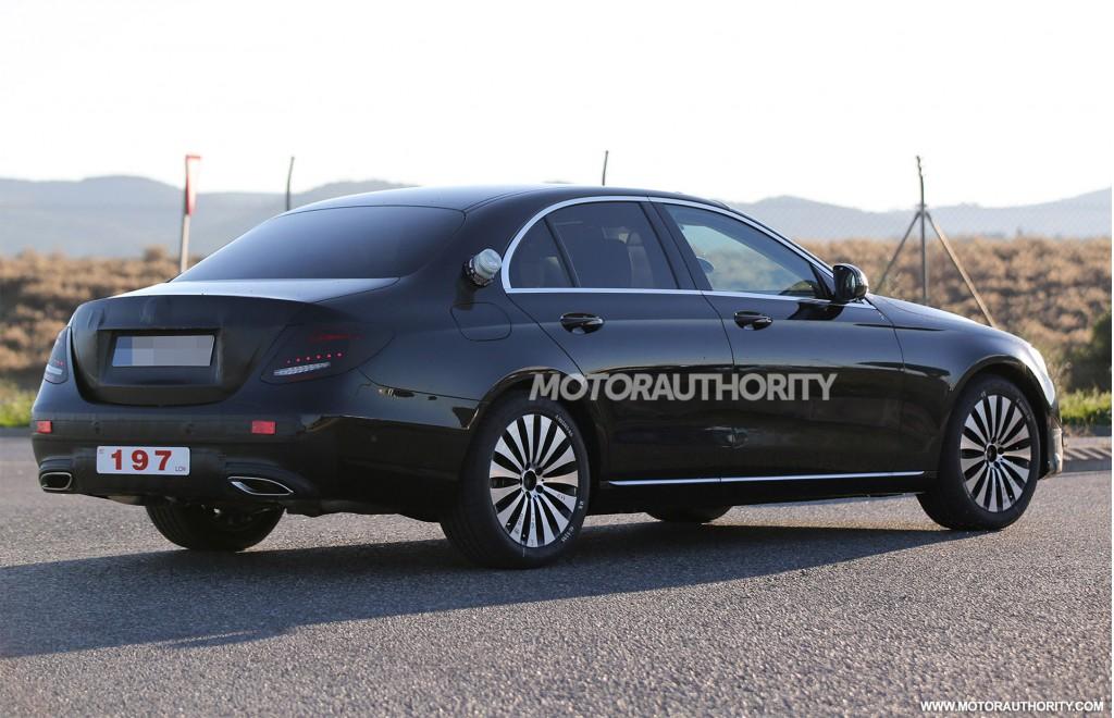 Image: 2017 Mercedes-Benz E-Class spy shots