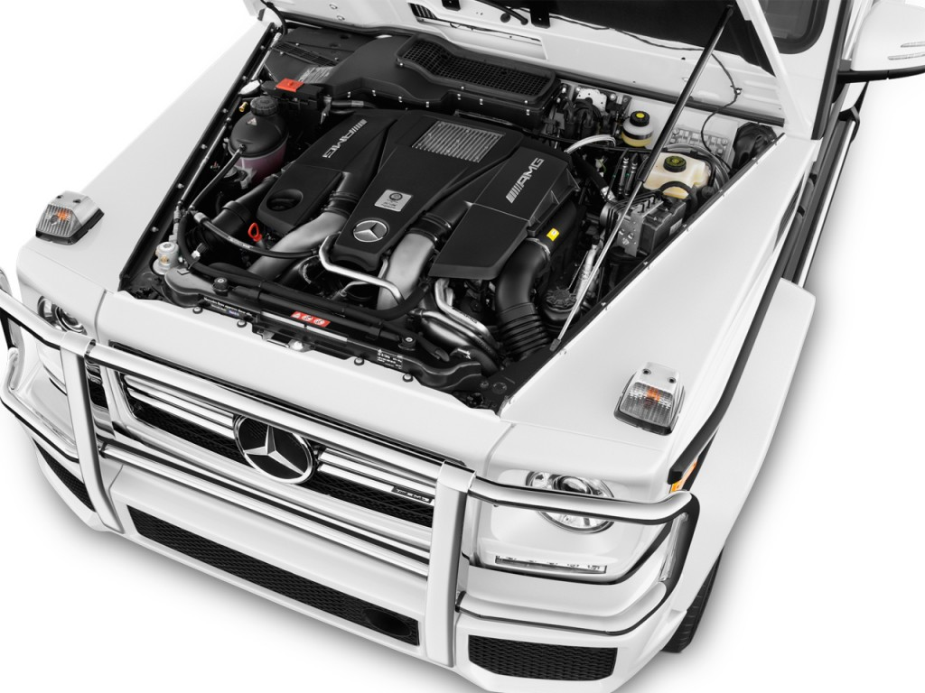Image 2017 mercedes benz g class amg g63 4matic suv for Mercedes benz g class engine