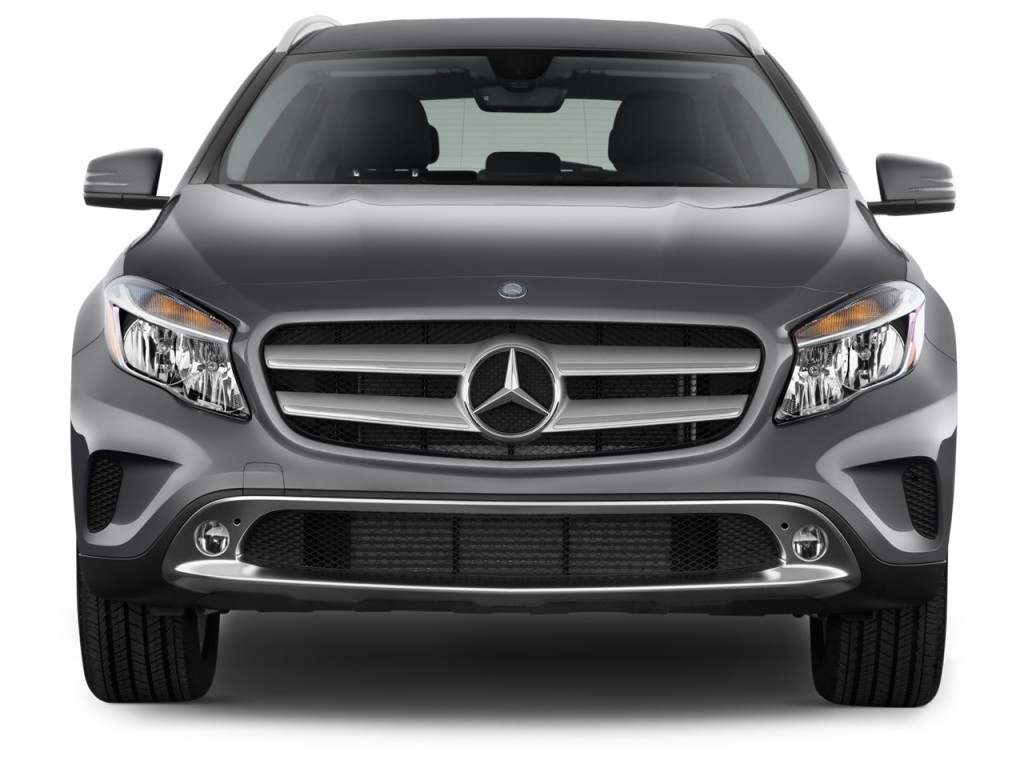 Image: 2017 Mercedes-Benz GLA GLA250 SUV Front Exterior ...