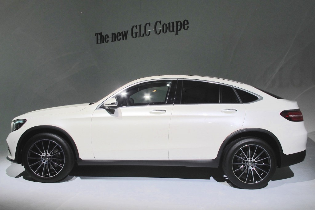 Image 2017 Mercedes Benz Glc Coupe 2016 New York