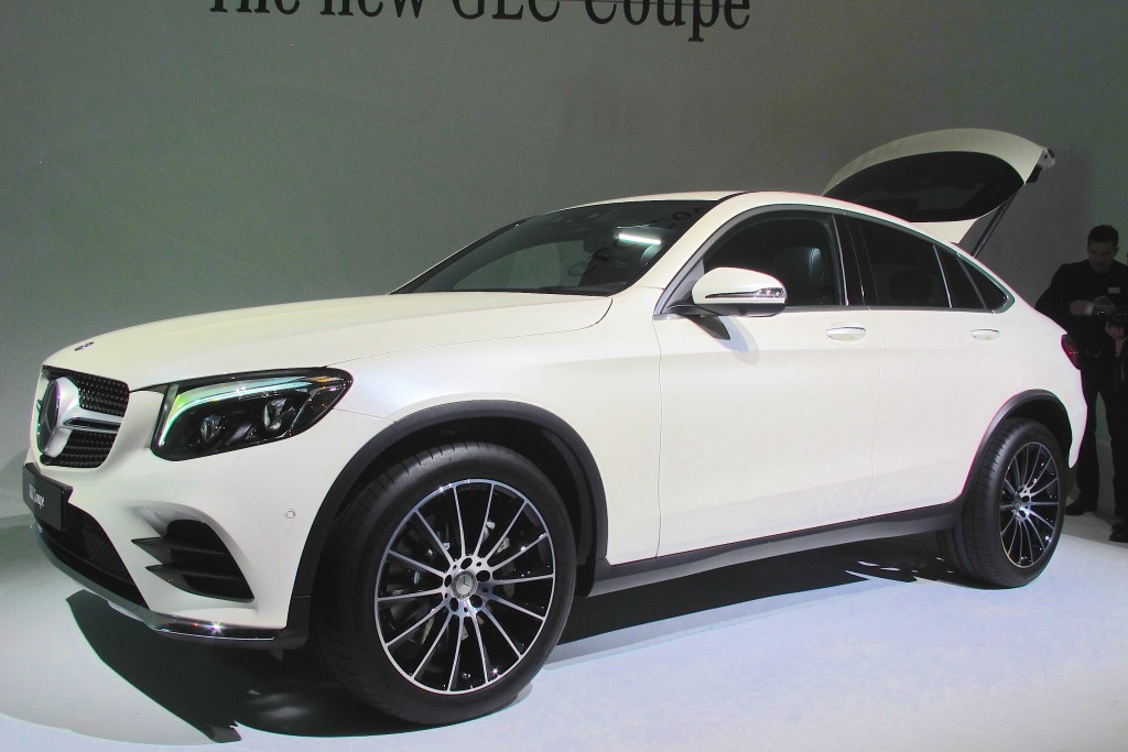 Image 2017 mercedes benz glc coupe 2016 new york for Mercedes benz complaint department