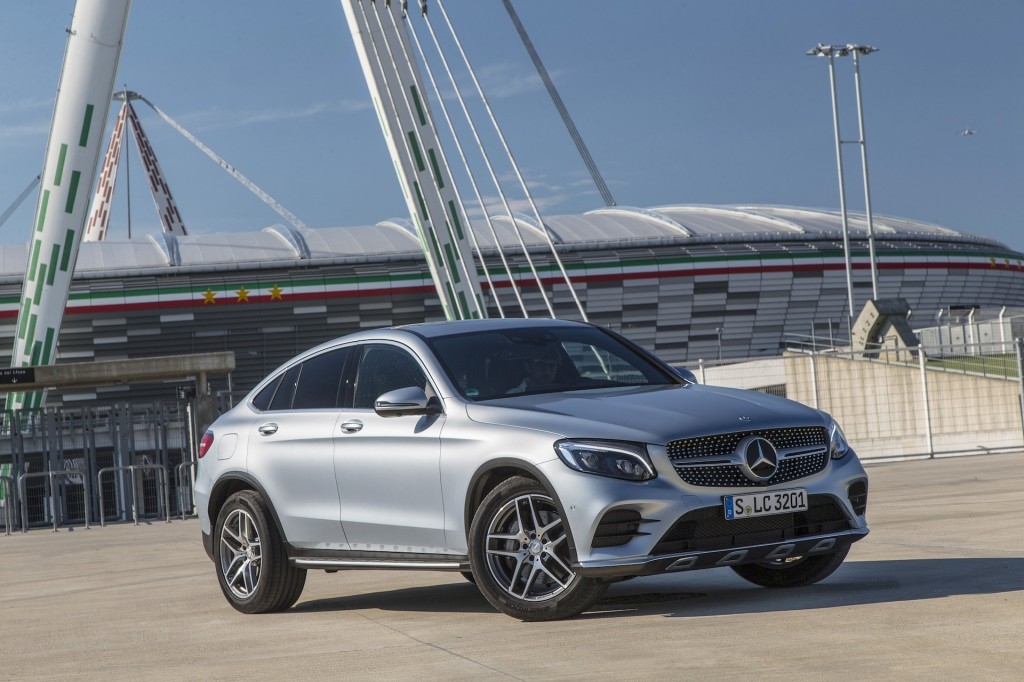 Image 2017 Mercedes Benz Glc Class Coupe Glc300 Coupe