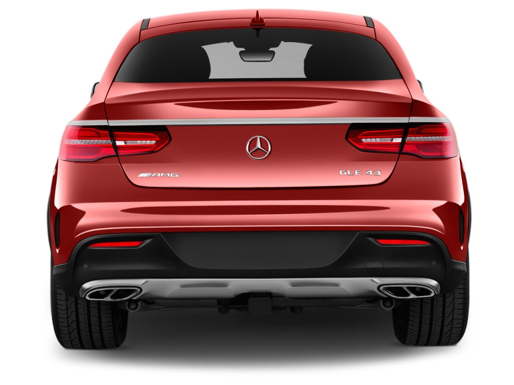 Image 2017 Mercedes Benz Gle Amg Gle 43 4matic Coupe Rear
