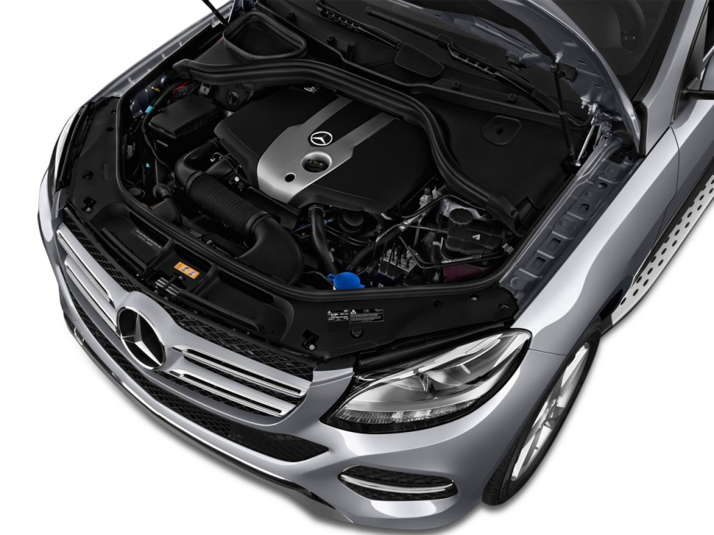 Image: 2017 Mercedes-Benz GLE GLE350 4MATIC SUV Engine ...