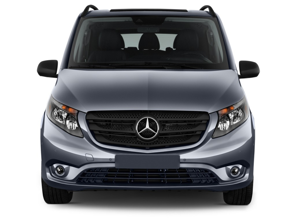 image 2017 mercedes benz metris passenger van standard roof 126 wheelbase front exterior view. Black Bedroom Furniture Sets. Home Design Ideas