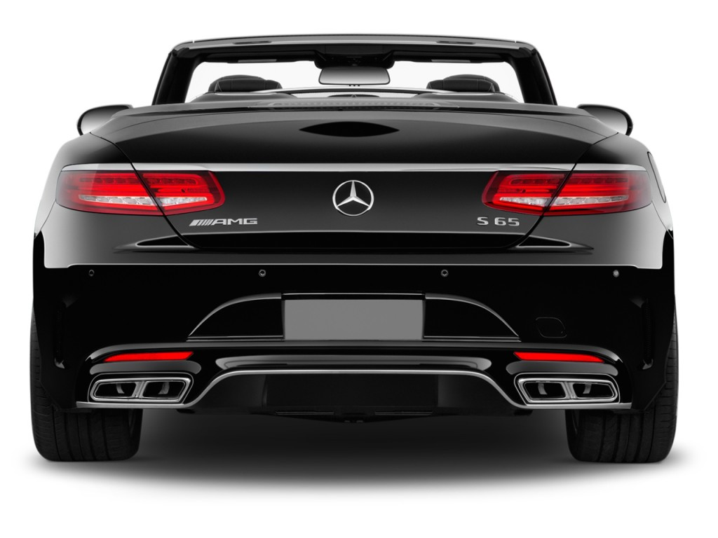 Image 2017 Mercedes Benz S Class Amg S65 Cabriolet Rear