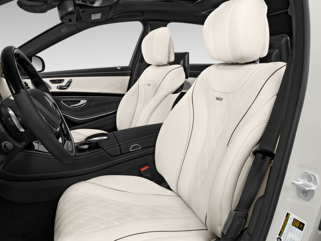 Image 2017 mercedes benz s class maybach s600 sedan front for Mercedes benz seats for sale
