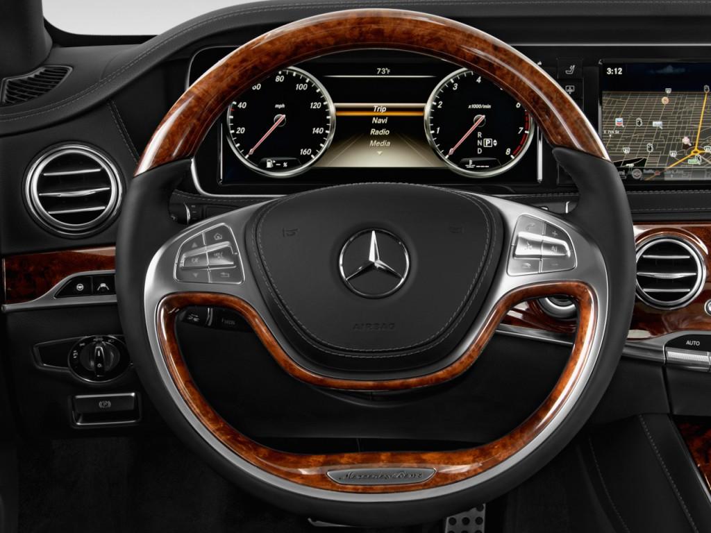 Image 2017 Mercedes Benz S Class S550 Sedan Steering