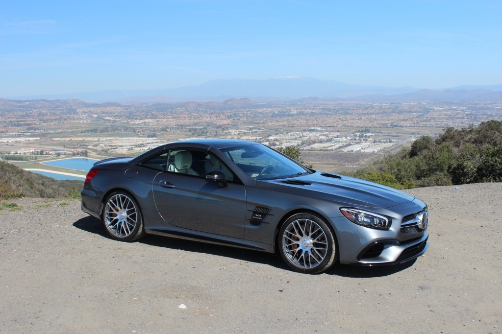 Image 2017 Mercedes Benz Sl63 Amg First Drive Size