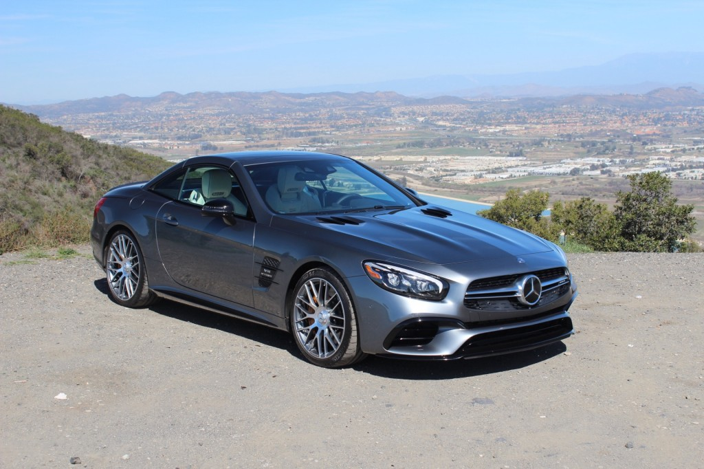Image 2017 mercedes benz sl450 first drive size 1024 x 682 for 2017 mercedes benz sl450