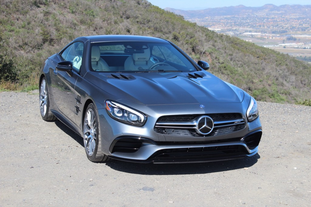 Image 2017 mercedes benz sl63 amg first drive size for Mercedes benz connect