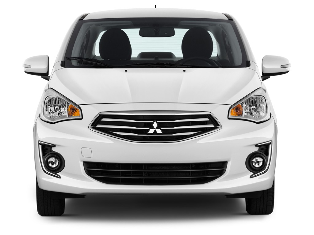 Image: 2017 Mitsubishi Mirage G4 SE CVT Front Exterior View, size: 1024 x 768, type: gif, posted ...