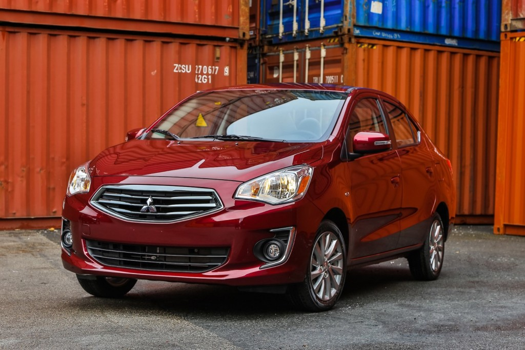 2018 mitsubishi mirage review ratings specs prices and photos the car connection. Black Bedroom Furniture Sets. Home Design Ideas