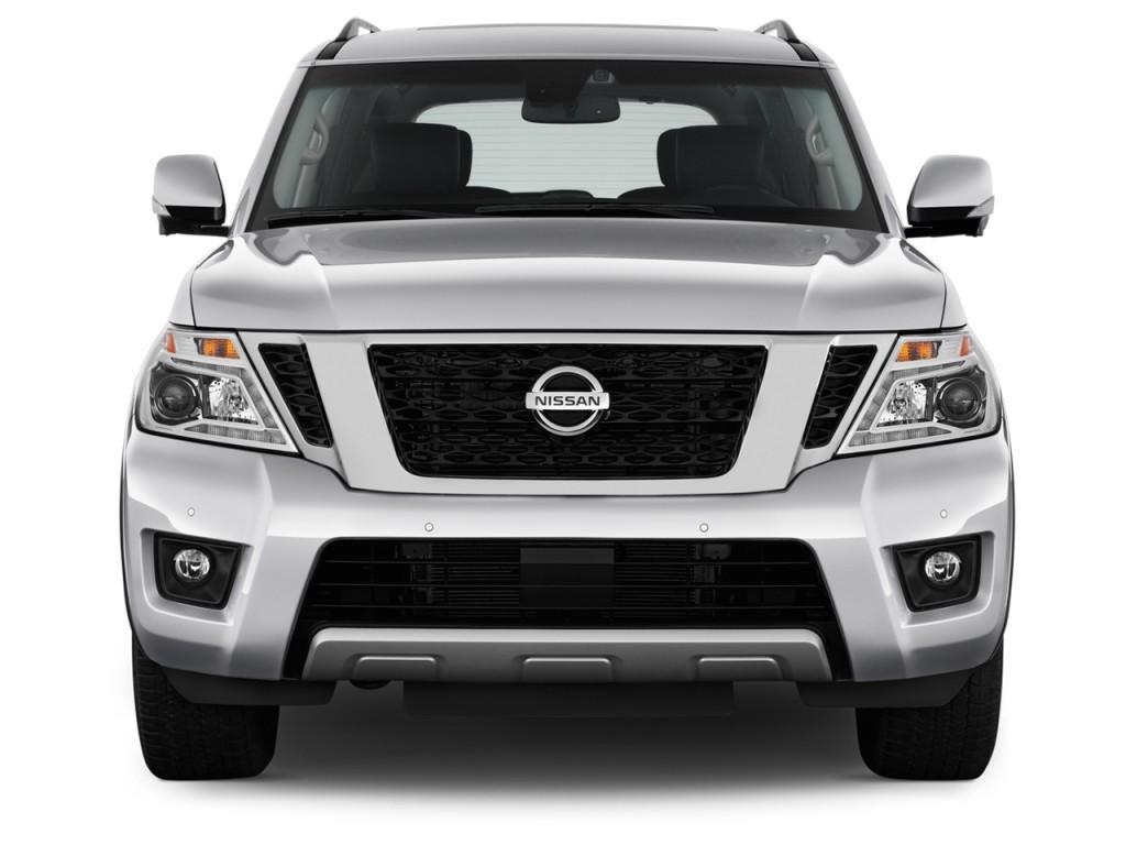 Image 2017 Nissan Armada 4x4 Platinum Front Exterior View