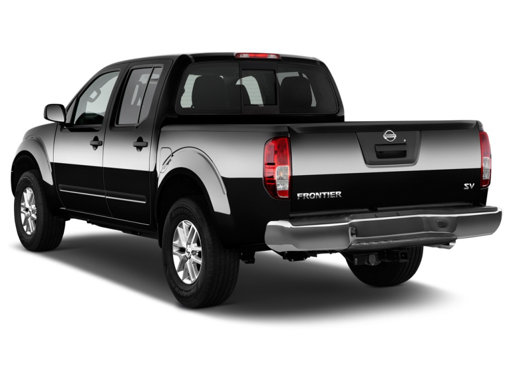 image 2017 nissan frontier crew cab 4x2 sv v6 auto angular rear exterior view size 1024 x 768. Black Bedroom Furniture Sets. Home Design Ideas