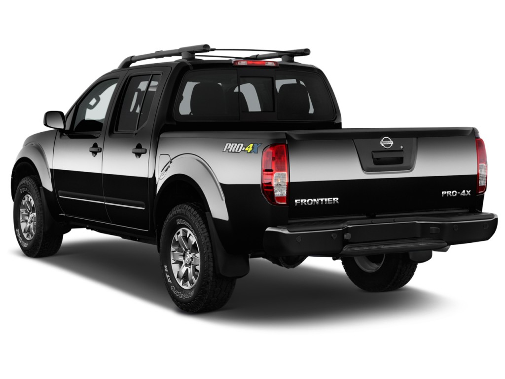 image 2017 nissan frontier crew cab 4x4 pro 4x auto angular rear exterior view size 1024 x. Black Bedroom Furniture Sets. Home Design Ideas