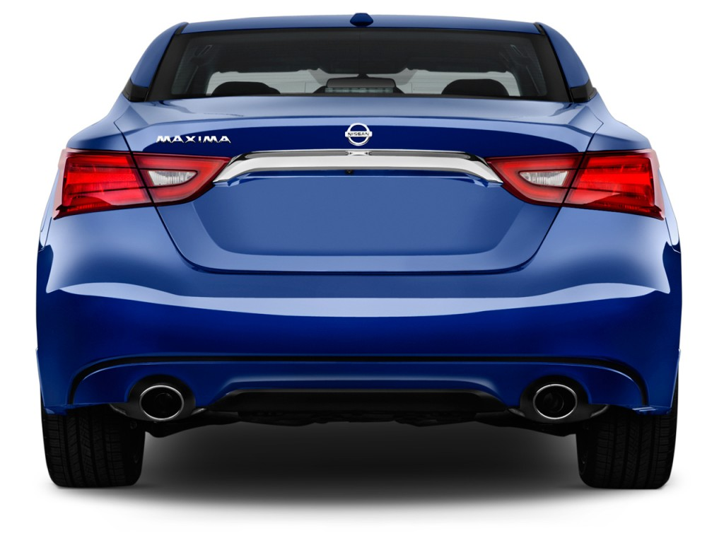 Image 2017 Nissan Maxima S 3 5l Rear Exterior View Size