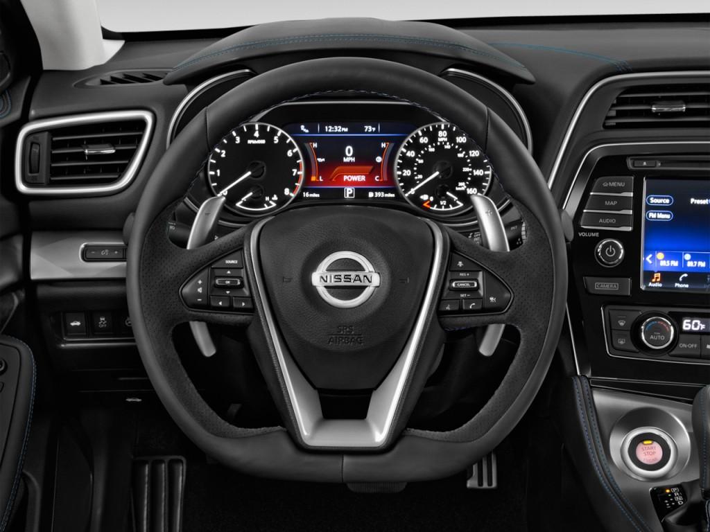 Image 2017 Nissan Maxima Sr 3 5l Steering Wheel Size