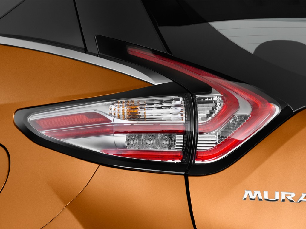 Image 2017 Nissan Murano Fwd Platinum Tail Light Size