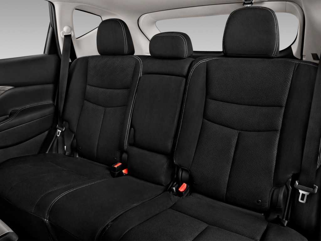 Image 2017 Nissan Murano Fwd Sv Rear Seats Size 1024 X