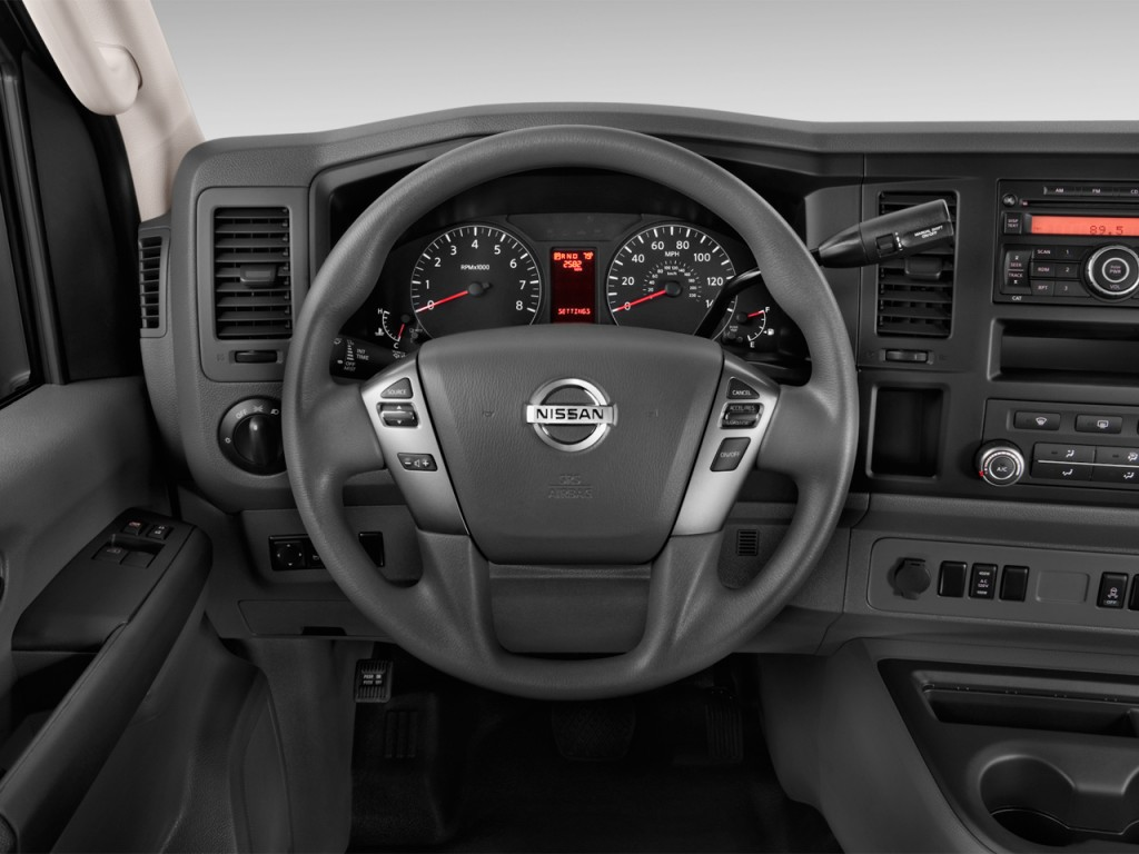 Image 2017 Nissan Nv Passenger V8 Sv Steering Wheel Size