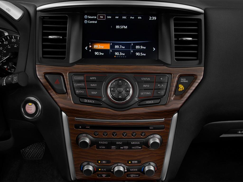 Image 2017 Nissan Pathfinder 4x4 Platinum Audio System