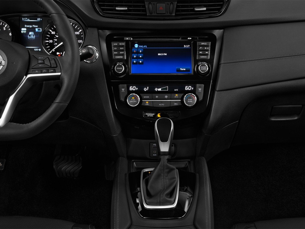 image 2017 nissan rogue fwd sl hybrid instrument panel size 1024 x 768 type gif posted on. Black Bedroom Furniture Sets. Home Design Ideas