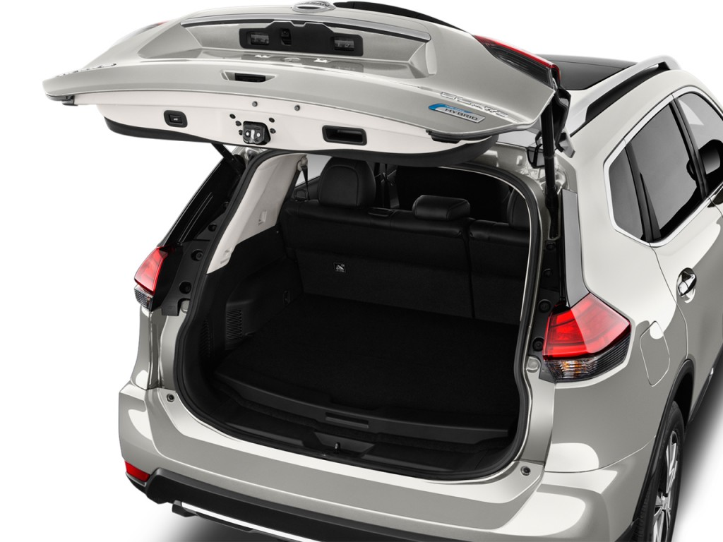 Image 2017 Nissan Rogue Fwd Sl Hybrid Trunk Size 1024 X