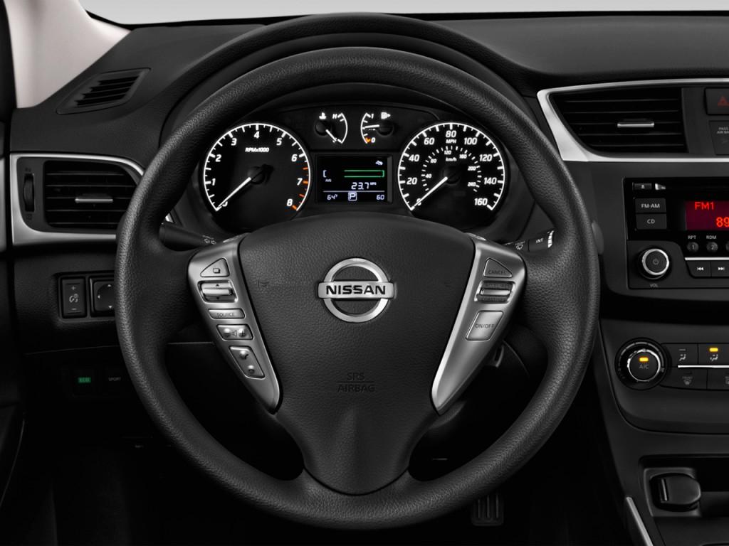 Nissan Sentra S Cvt Steering Wheel L