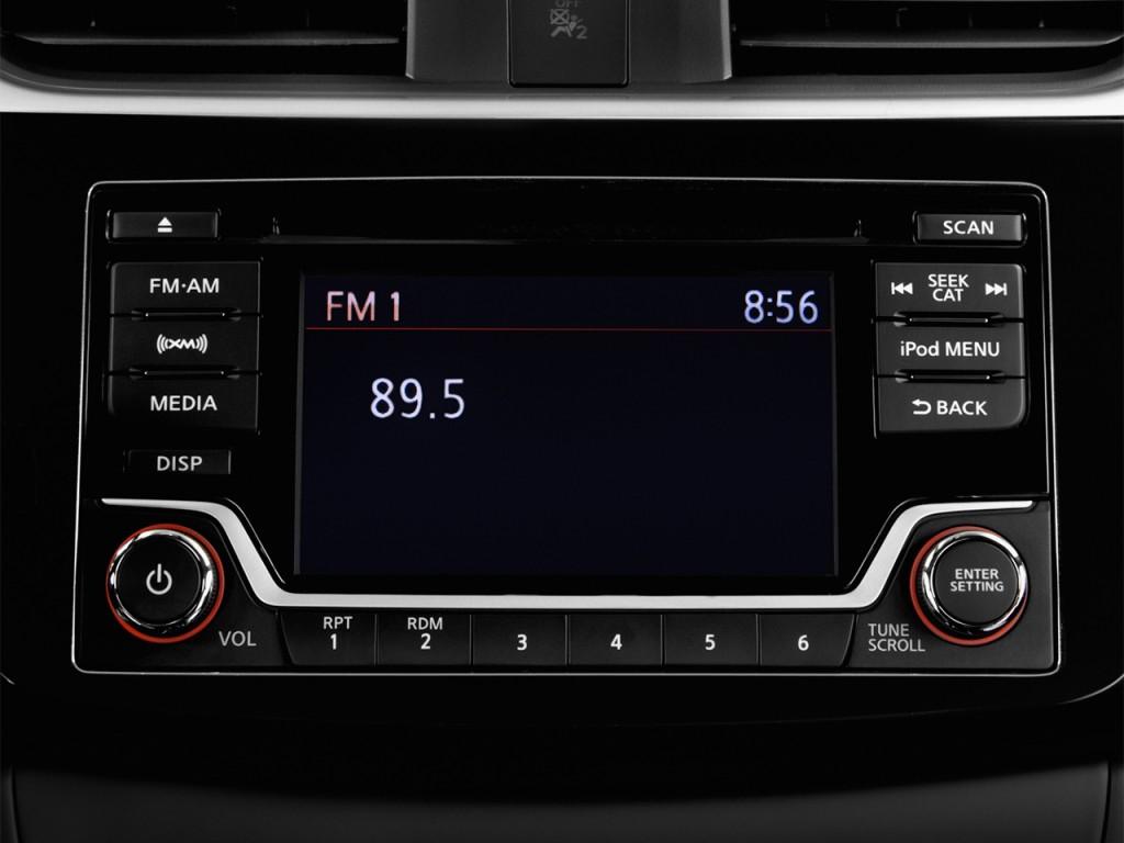 Image  2017 Nissan Sentra Sv Cvt Audio System  Size  1024