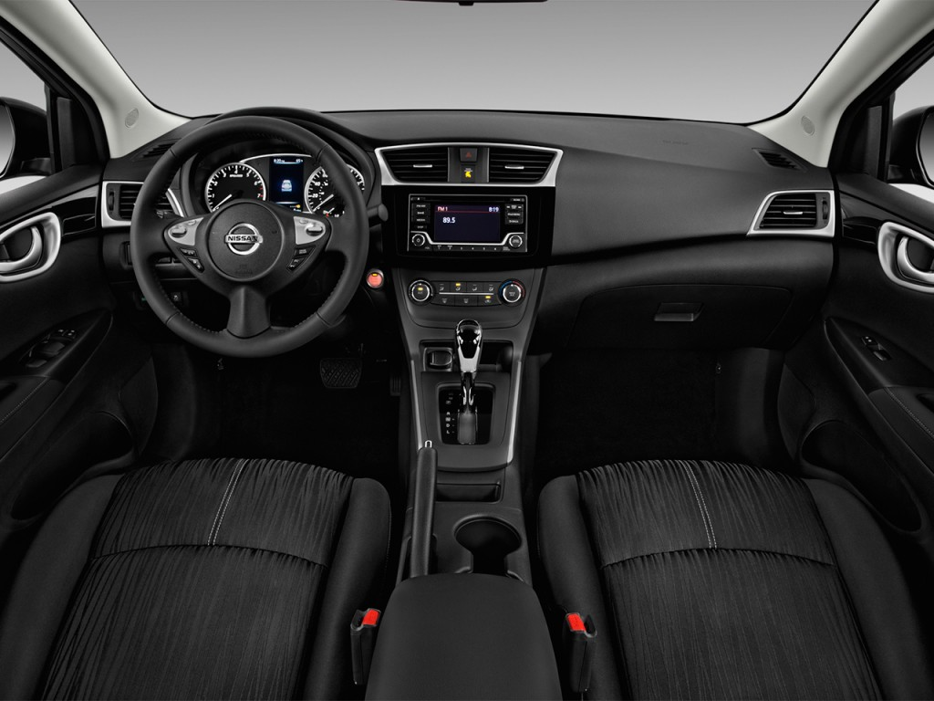 2016 Nissan Nv Passenger >> Image: 2017 Nissan Sentra SV CVT Dashboard, size: 1024 x 768, type: gif, posted on: November 23 ...