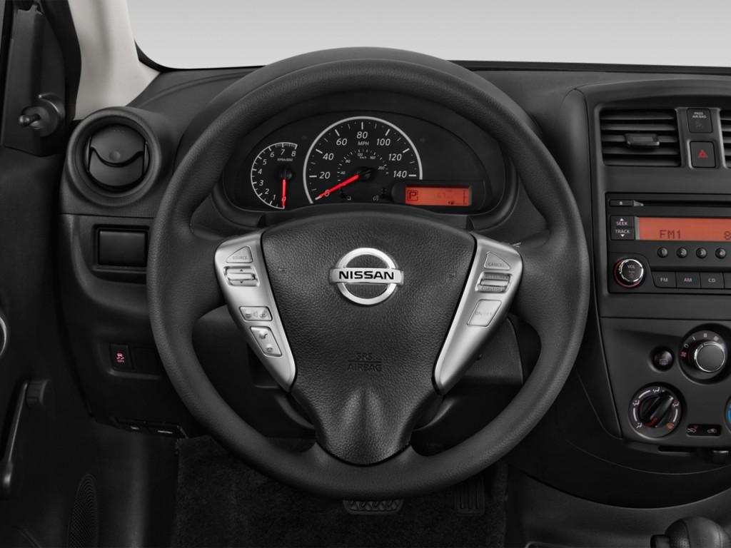 Nissan Nv Passenger >> Image: 2017 Nissan Versa Sedan SV CVT Steering Wheel, size: 1024 x 768, type: gif, posted on ...