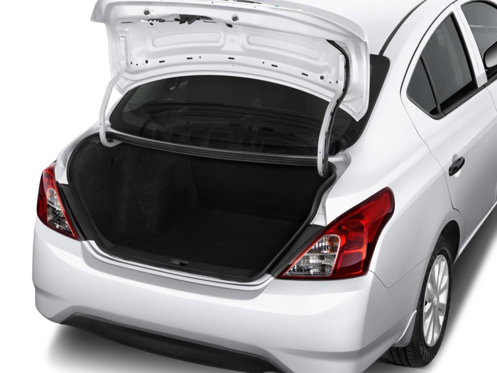 Image 2017 Nissan Versa Sedan Sv Cvt Trunk Size 1024 X