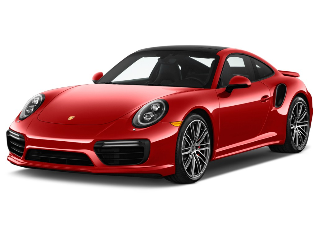 Image 2017 Porsche 911 Turbo Coupe Angular Front Exterior