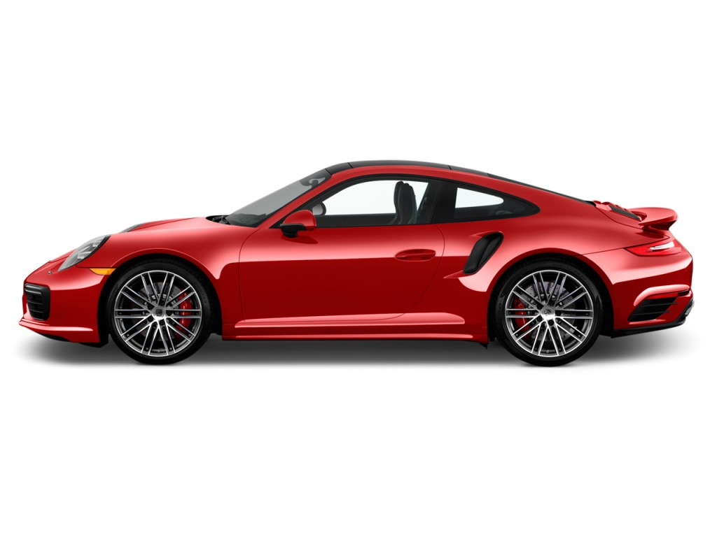 Image 2017 Porsche 911 Turbo Coupe Side Exterior View