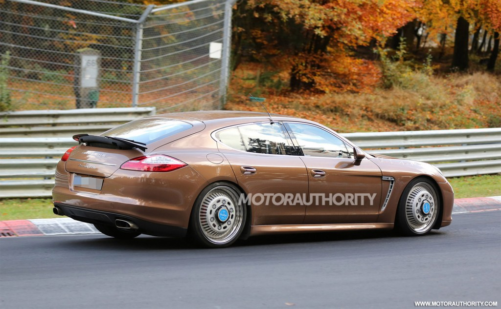 Image 2017 Porsche Panamera Test Mule Spy Shots Size