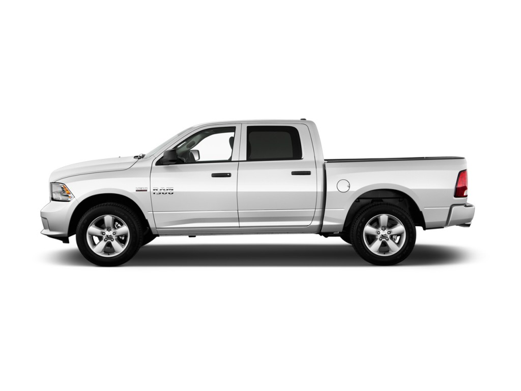 image 2017 ram 1500 express 4x2 crew cab 5 39 7 box side exterior view size 1024 x 768 type. Black Bedroom Furniture Sets. Home Design Ideas
