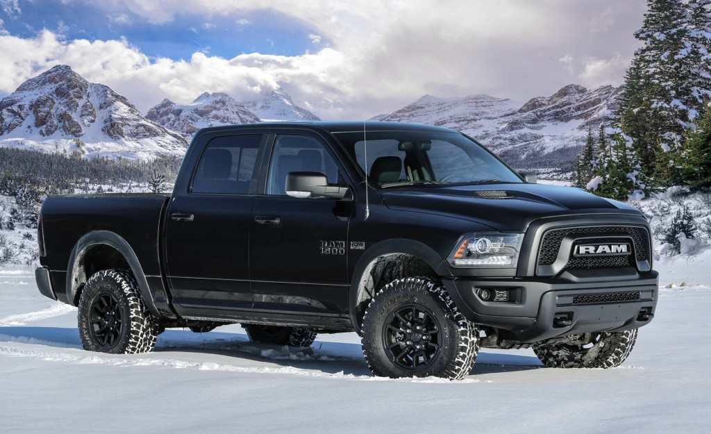 Ram turns out the lights with new Rebel Black package