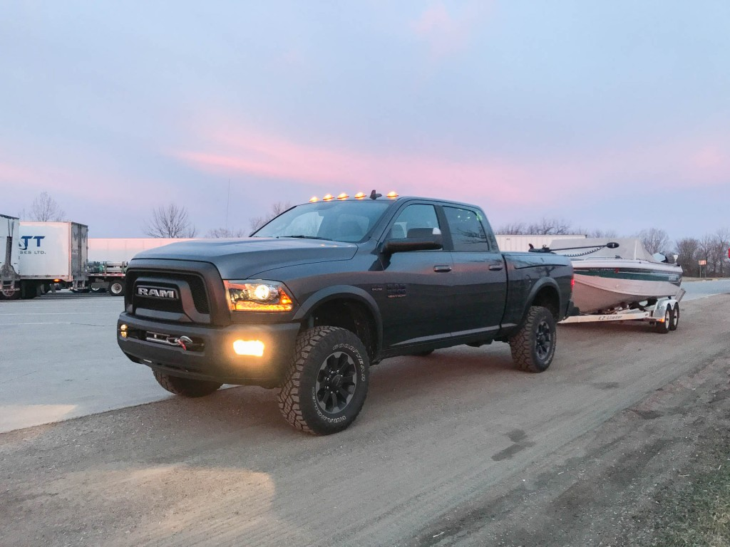 towing a boat with the 2017 ram power wagon 6 things you need to know. Black Bedroom Furniture Sets. Home Design Ideas